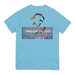 HARMLESS MELODIES LIGHT BLUE T-SHIRT