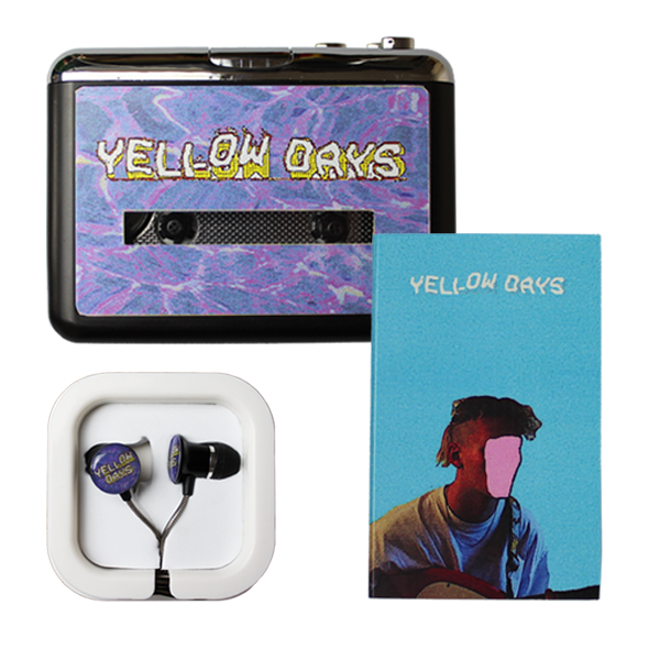 YELLOW DAYS WALKMAN + HEADPHONES + IS EVERYTHNG OKAY IN YOUR WORLD? (CASSETTE)
