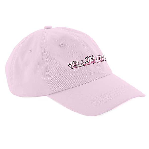 YELLOW DAYS LOGO PINK CAP