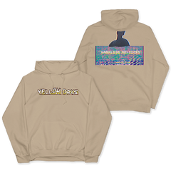HARMLESS MELODIES BEIGE PULLOVER HOOD