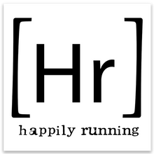 Happily Running logo sticker - Happily Running