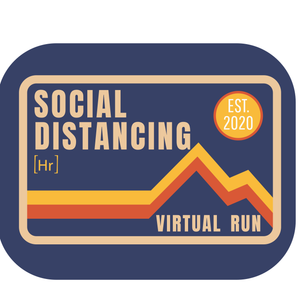 Social Distancing Virtual Run Relay - Happily Running