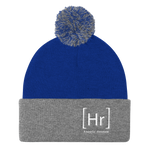NEW LOGO Pom Pom Beanie - Happily Running