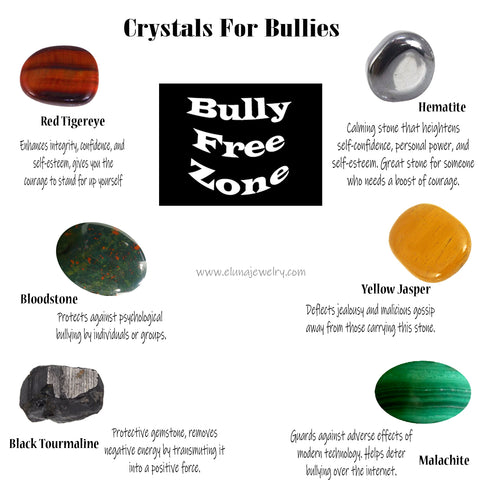Crystals to Protect Against Bullies