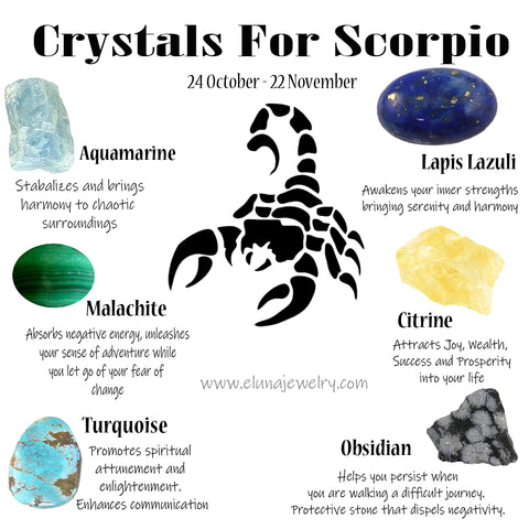 Crystals for Scorpio