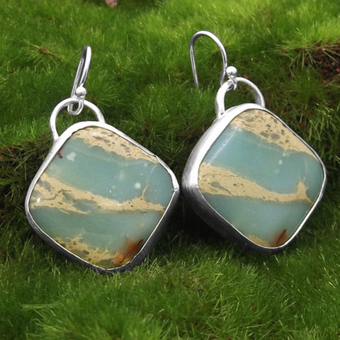 Aqua Terra Jasper Earrings