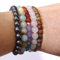 Stacked Healing Bracelets 1