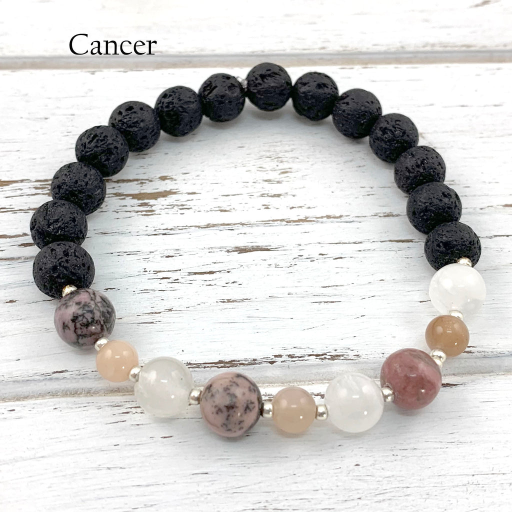 Cancer Zodiac Bracelet - Eluna Jewelry