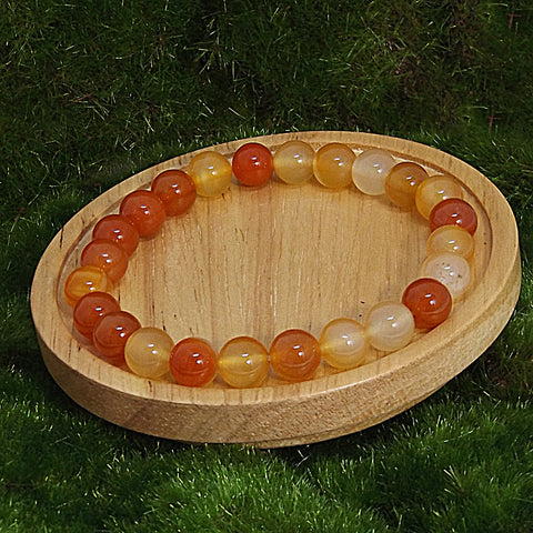 Carnelian Spiritual Stretch Bracelet for Success