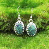 Chrysocolla Earrings by Eluna Jewelry Designs