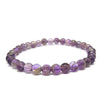 Amethyst Gemstone Healing Bracelet for Stress and Cravings - Eluna Jewelry