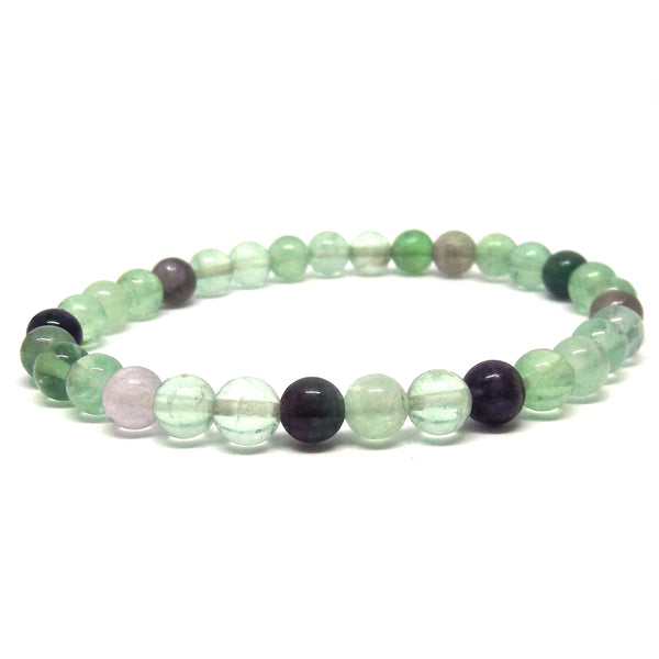 Fluorite Healing Bracelet for Grounding and Concentration