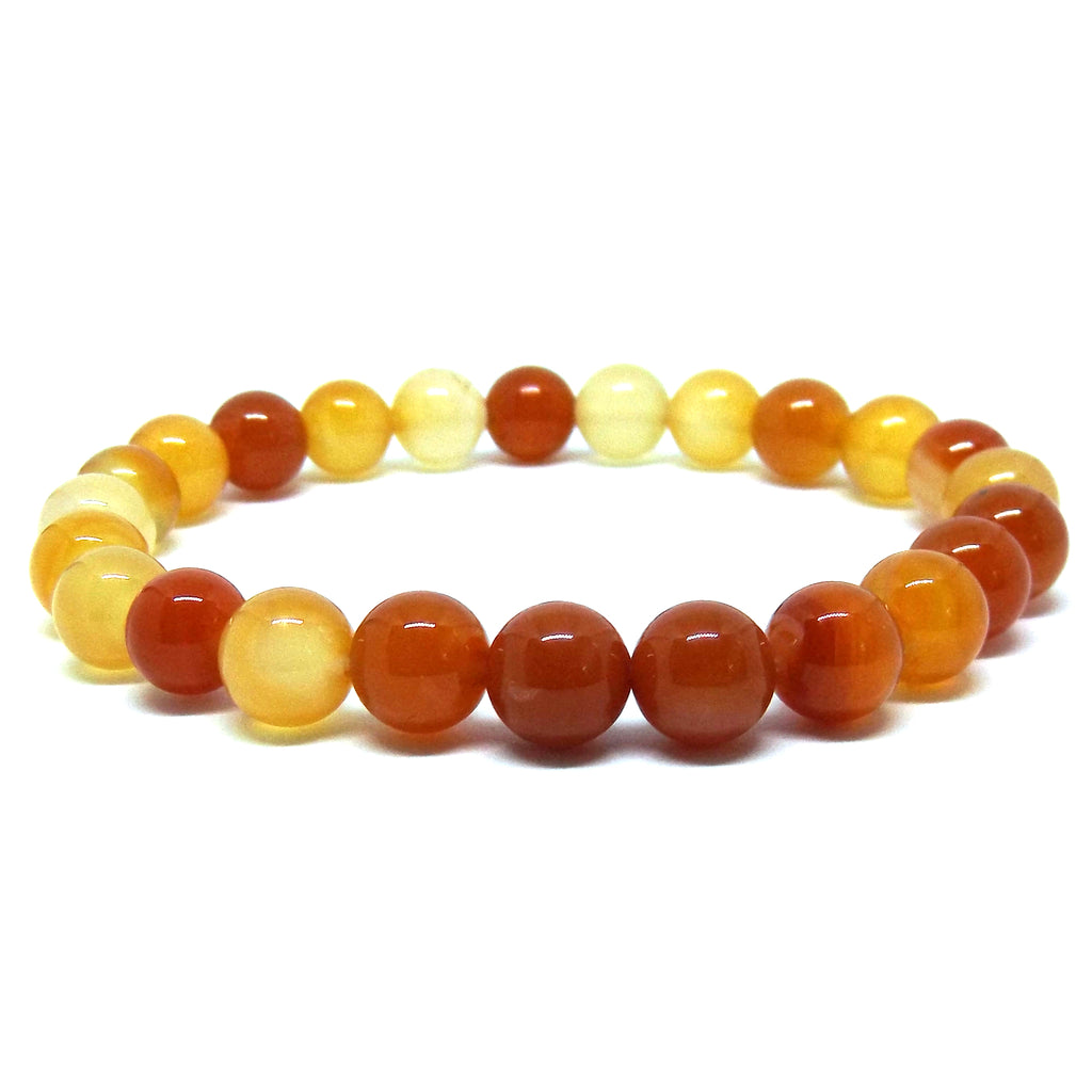 Carnelian Healing Bracelet for Success - Eluna Jewelry