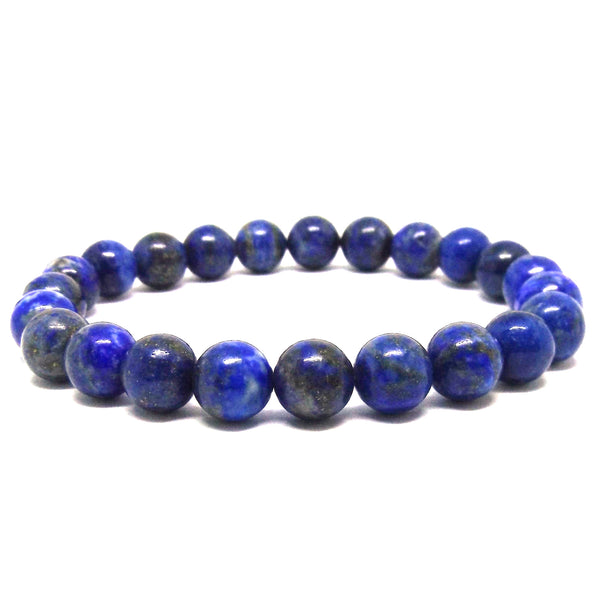 Lapis Lazuli Healing Bracelet for Honesty and Stress - Eluna Jewelry