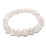 Pale Rose Quartz Healing Bracelet