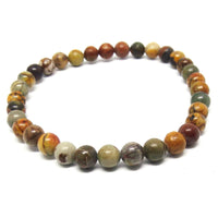 Small Cherry Creek Jasper Healing Bracelet 2