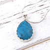 Blue Howlite Necklace for Tranquility and Calming - Eluna Jewelry