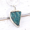 Amazonite Gemstone Necklace for Harmony - Eluna Jewelry