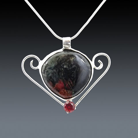 Eudialyte Gemstone Necklace
