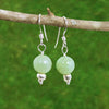Jade Healing Earrings for Purity and Serenity - Eluna Jewelry
