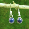 Handmade Lapis Lazuli Earrings for Harmony and Serenity - Eluna Jewelry