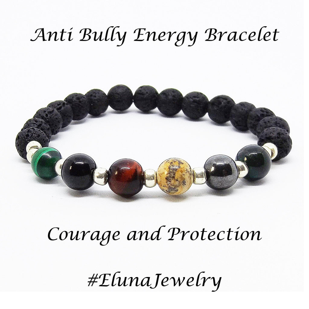 Anti Bully Gemstone Healing Bracelet - Eluna Jewelry