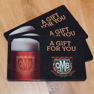 OMB Gift Card ( Delivered by Mail )