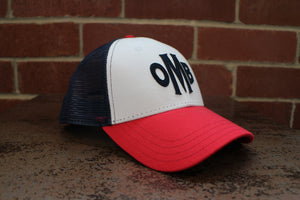 Red, White and Blue Adjustable Hat