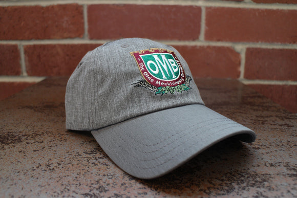 Grey OMB Logo Golf Hat