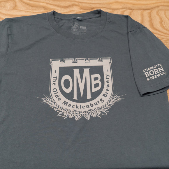 Men's OMB Logo T-shirt - Gray