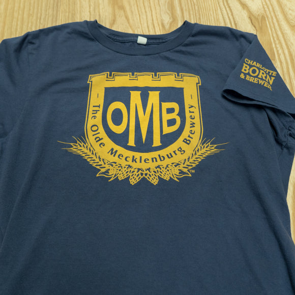 Men's OMB Logo T-shirt - Navy