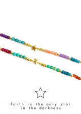 Star Colorful Meaning Adjustable thread bracelet - LoobanysJewelry