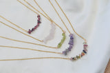 Amatista Chip Quartz Necklaces - LoobanysJewelry