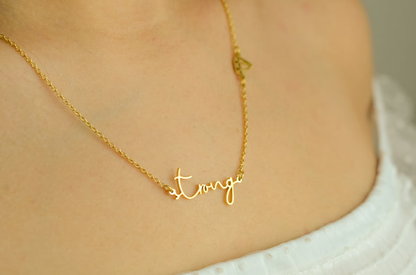 Strong Necklace Purpose Collection - LoobanysJewelry