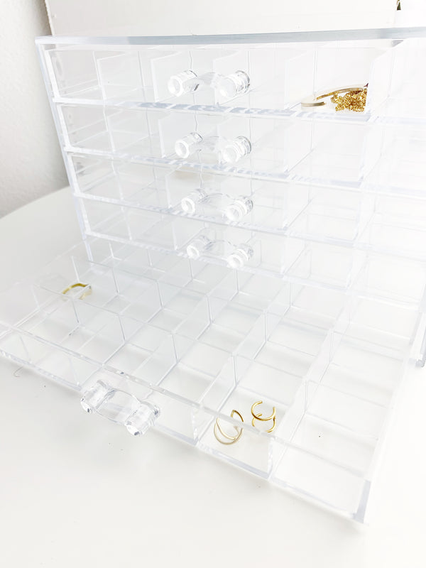 Drawer acrylic Organization Box - LoobanysJewelry