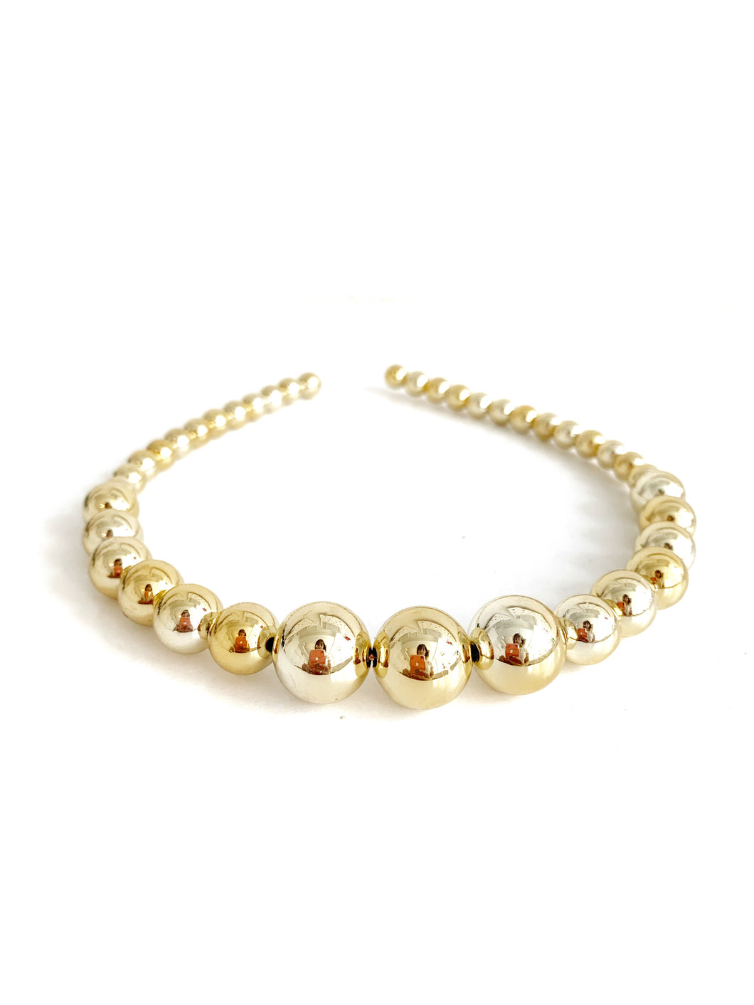 Gold Bead Headband
