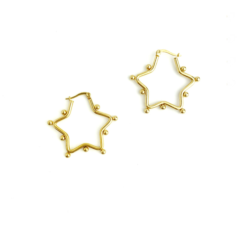 Lot of Dot Star Hoops
