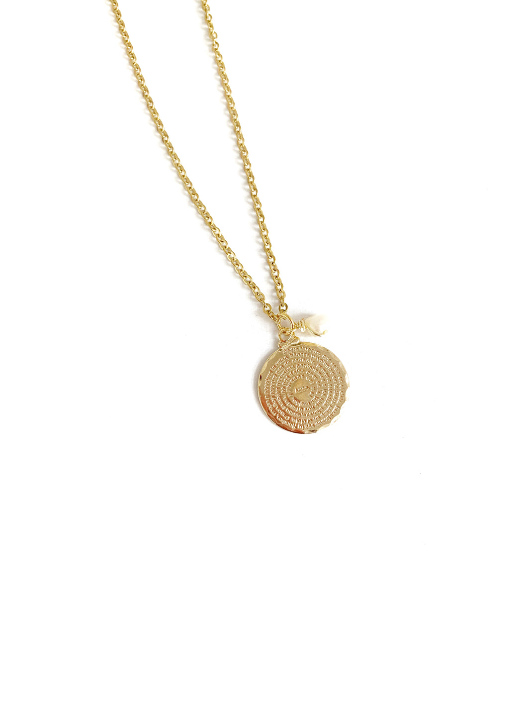 Padre Nuestro Small Necklace