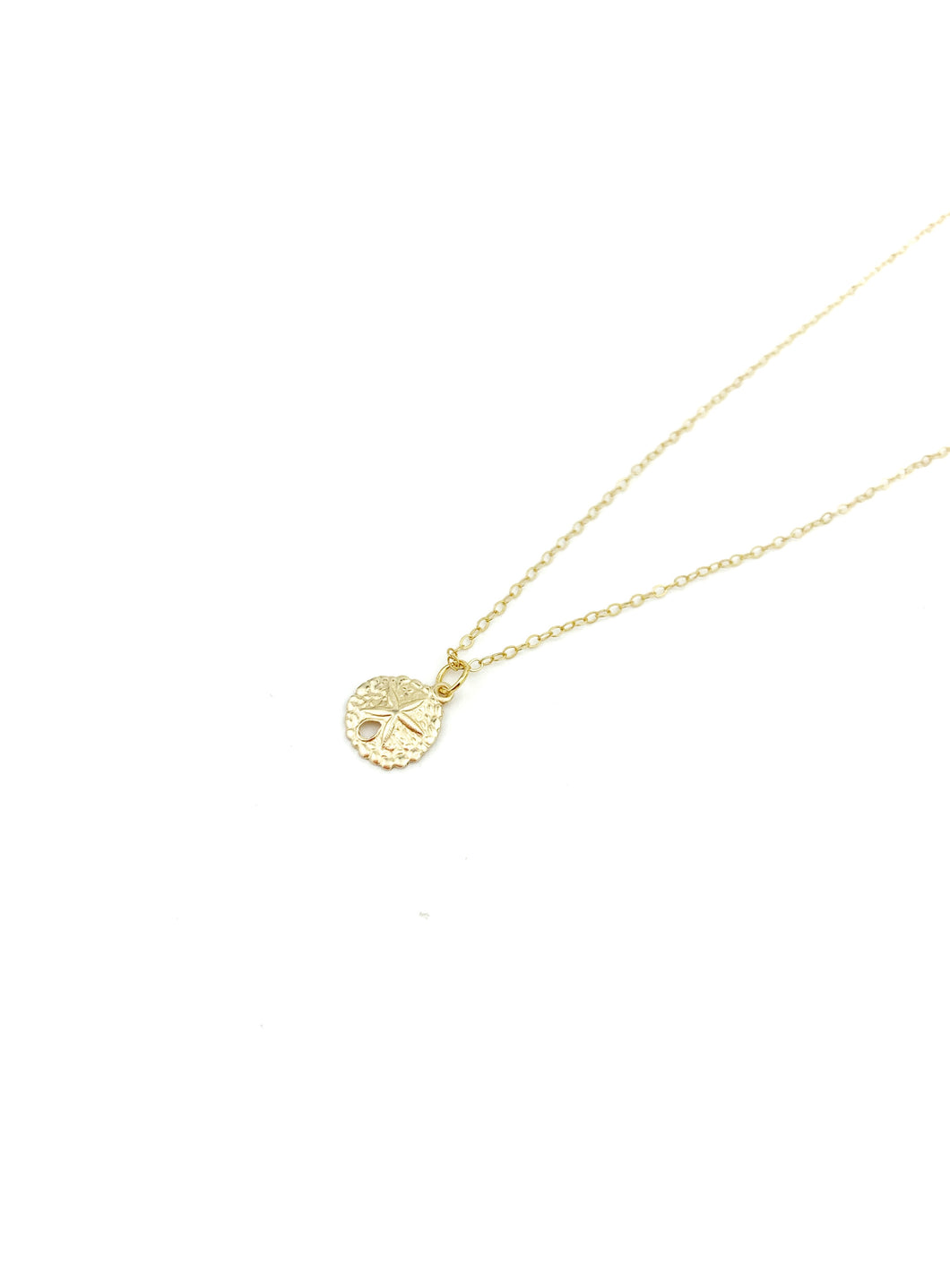 Sea Coin Gold Necklace - LoobanysJewelry