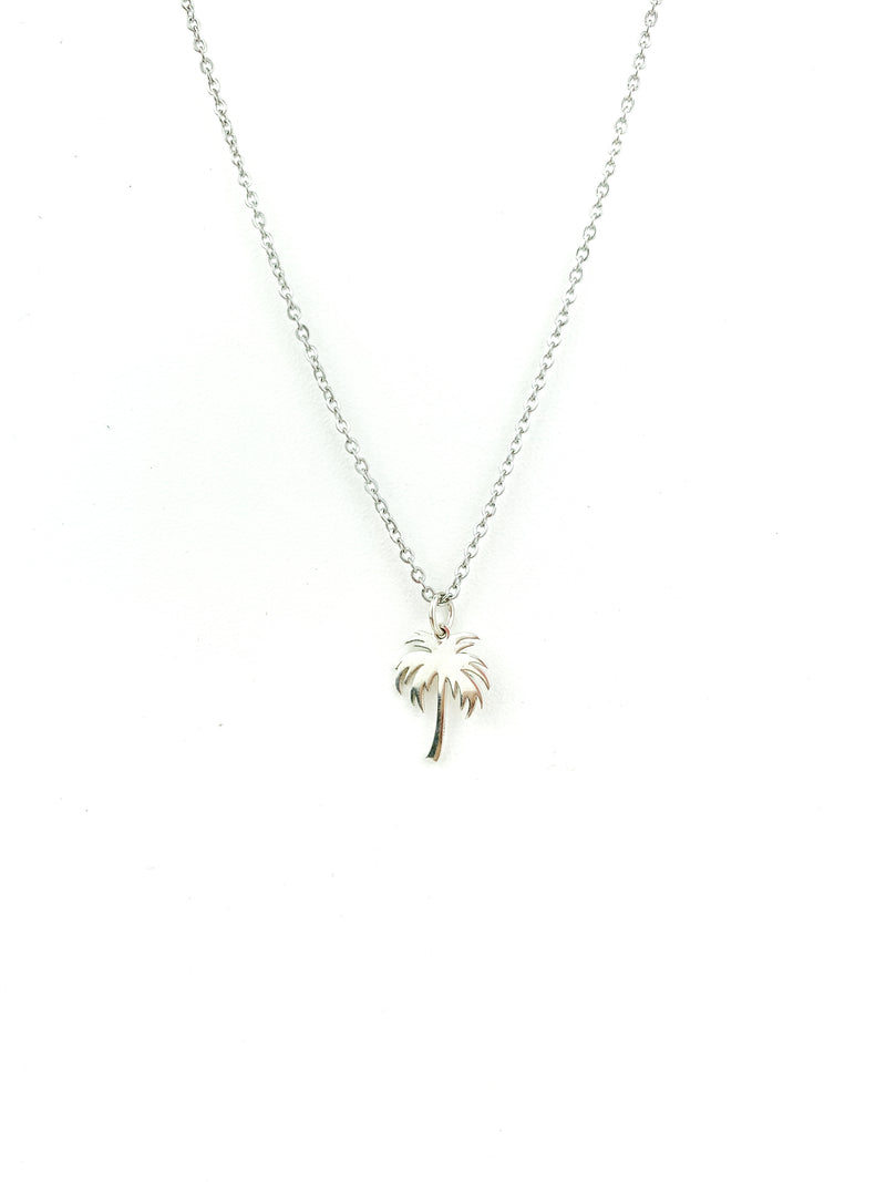 Silver 925 Palm Necklace - LoobanysJewelry