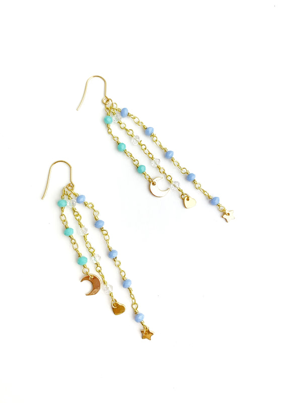 Line Drop Earrings - LoobanysJewelry