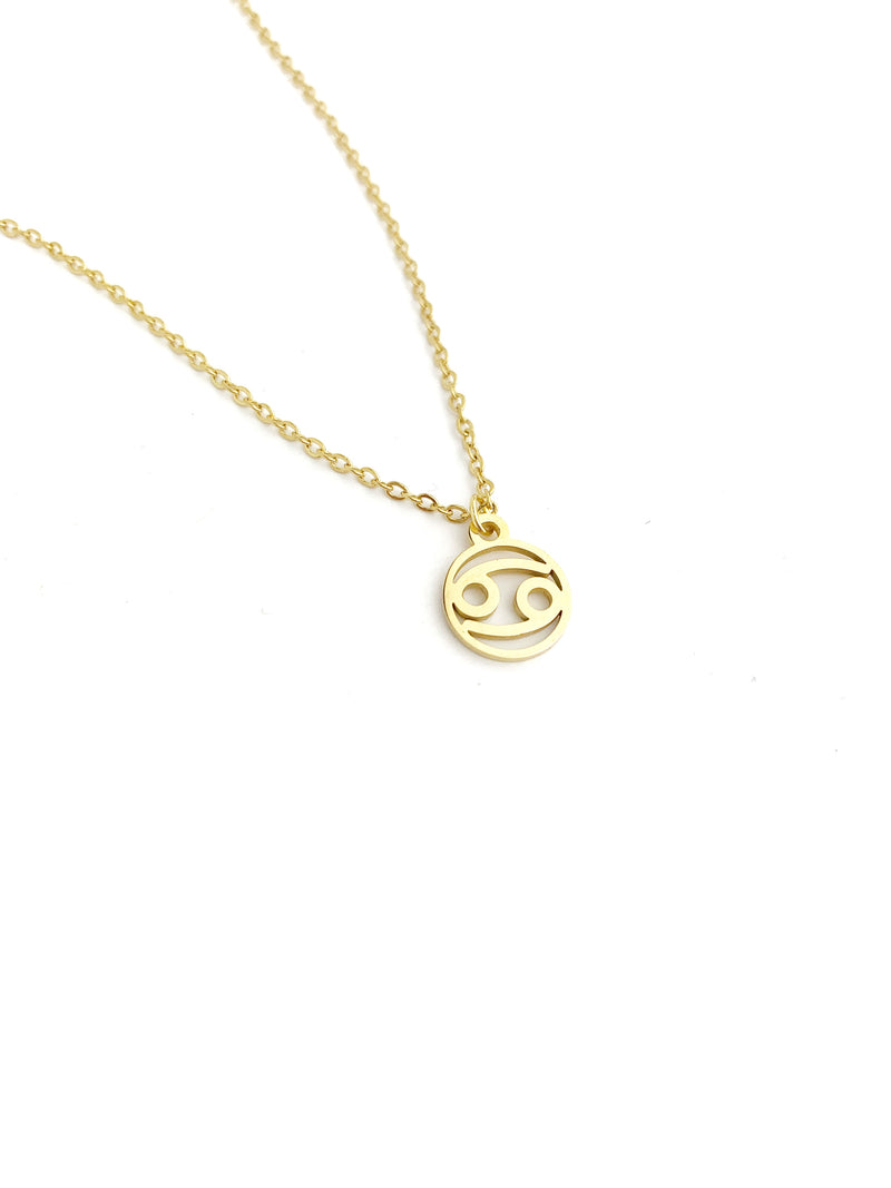 Small Zodiac Necklace - LoobanysJewelry