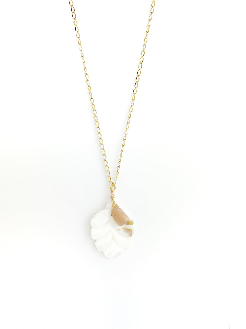 Pearl Leaf Necklaces - LoobanysJewelry