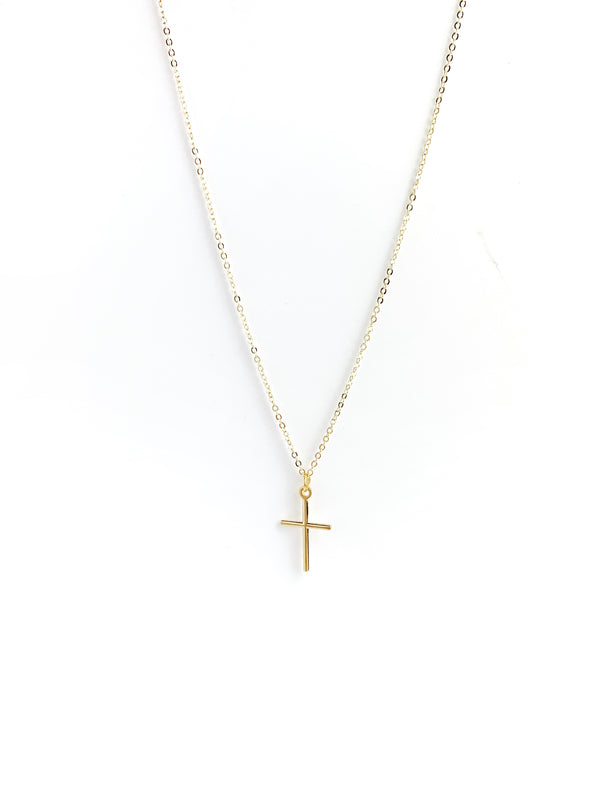 Thin Cross Full Adjustable Chain Necklaces - LoobanysJewelry