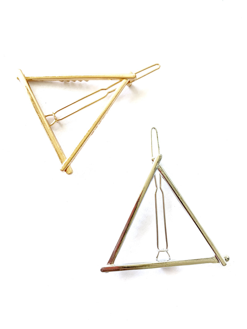 Triangle Hair Pin - LoobanysJewelry