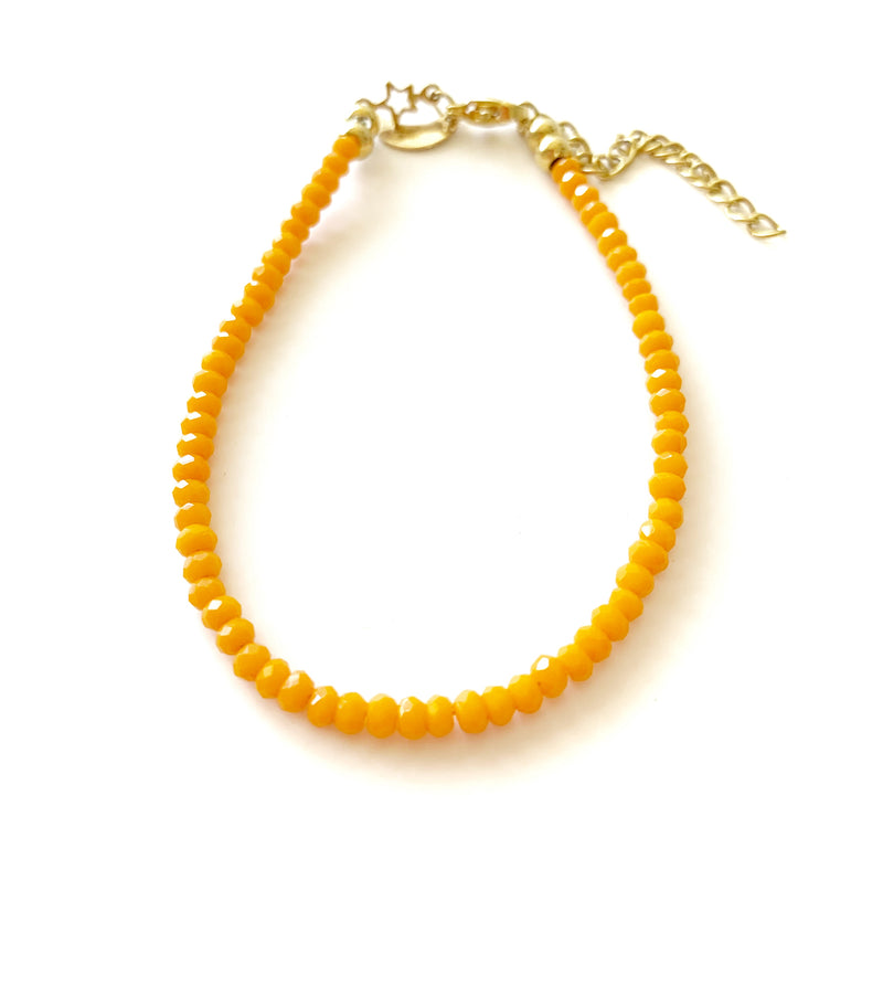 Fine Color Bracelets (orange) - LoobanysJewelry