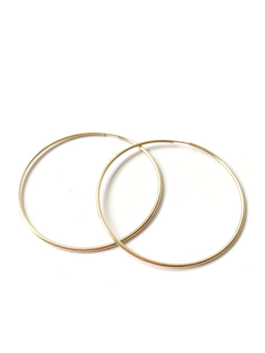 Gold Filled Hoop Earrings - LoobanysJewelry