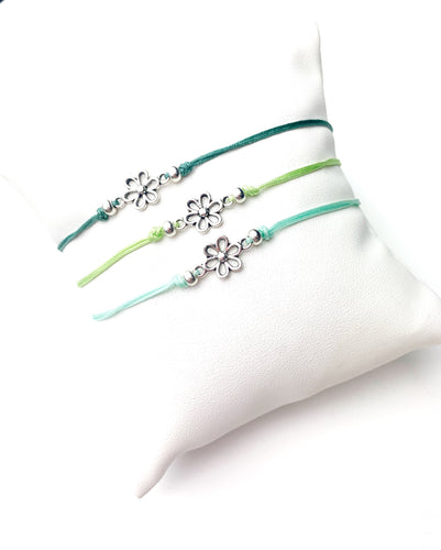 Simple Flower Adjustable Bracelet