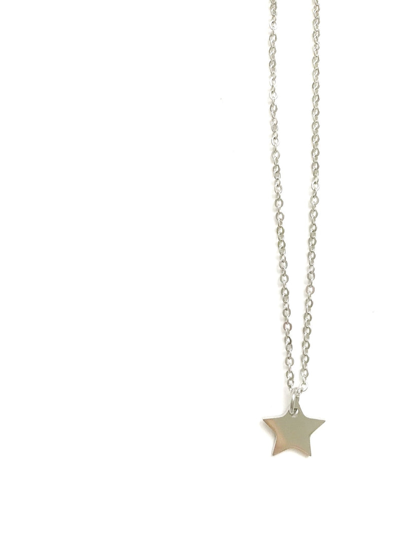 Flat Star GOLD and Silver - LoobanysJewelry