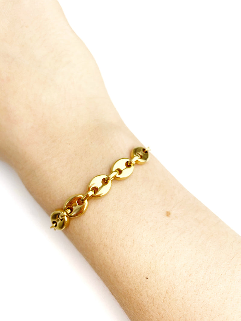 Bean Adjustable chain Bracelet - LoobanysJewelry